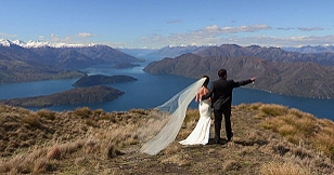Weddings in Wanaka at Lakeside Apartments
