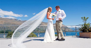 Weddings in Wanaka at Lakeside Apartments Penthouse